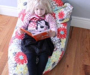 Super Simple DIY Kids Bean Bag Chair: A Step-by-Step Tutorial
