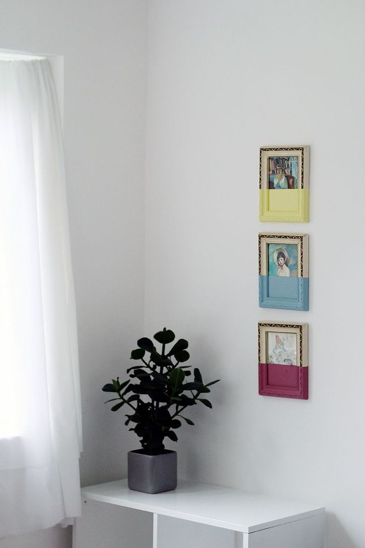 diy paint dipped pictures