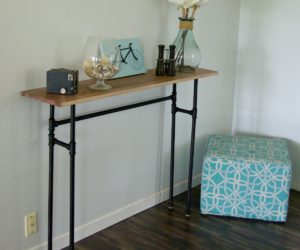How To Build A Table Using Industrial Galvanized Pipes