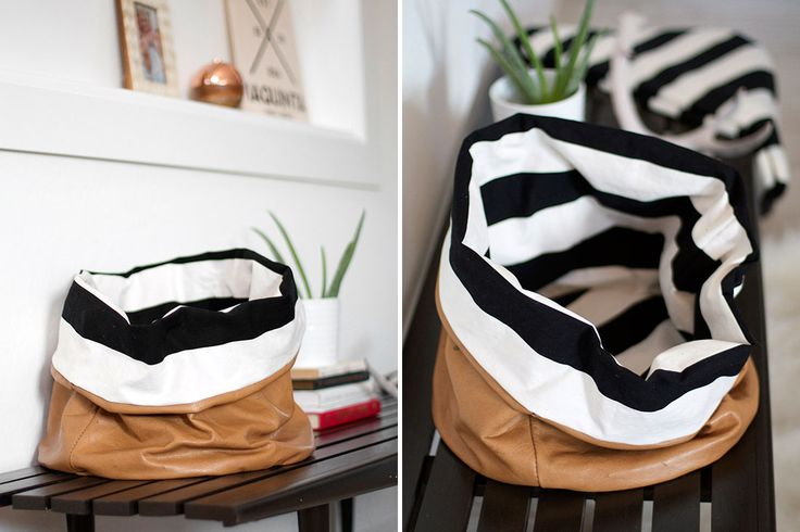 diy slouchy bag