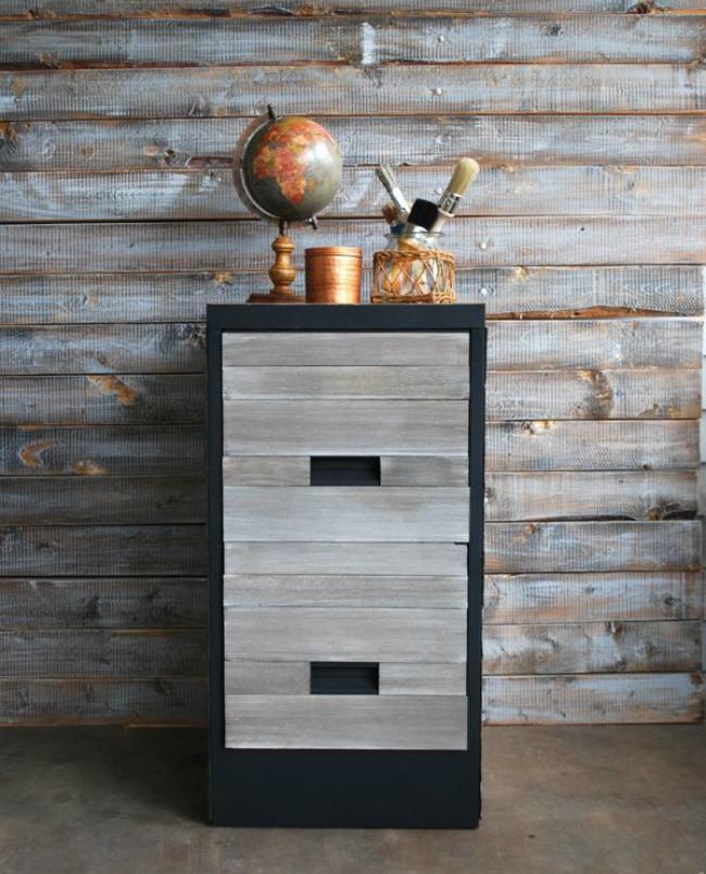 diy wood cabinet