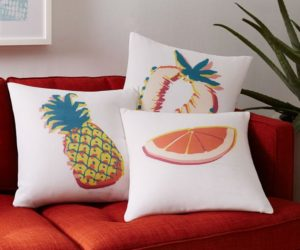25 Throw Pillows: Summer Edition