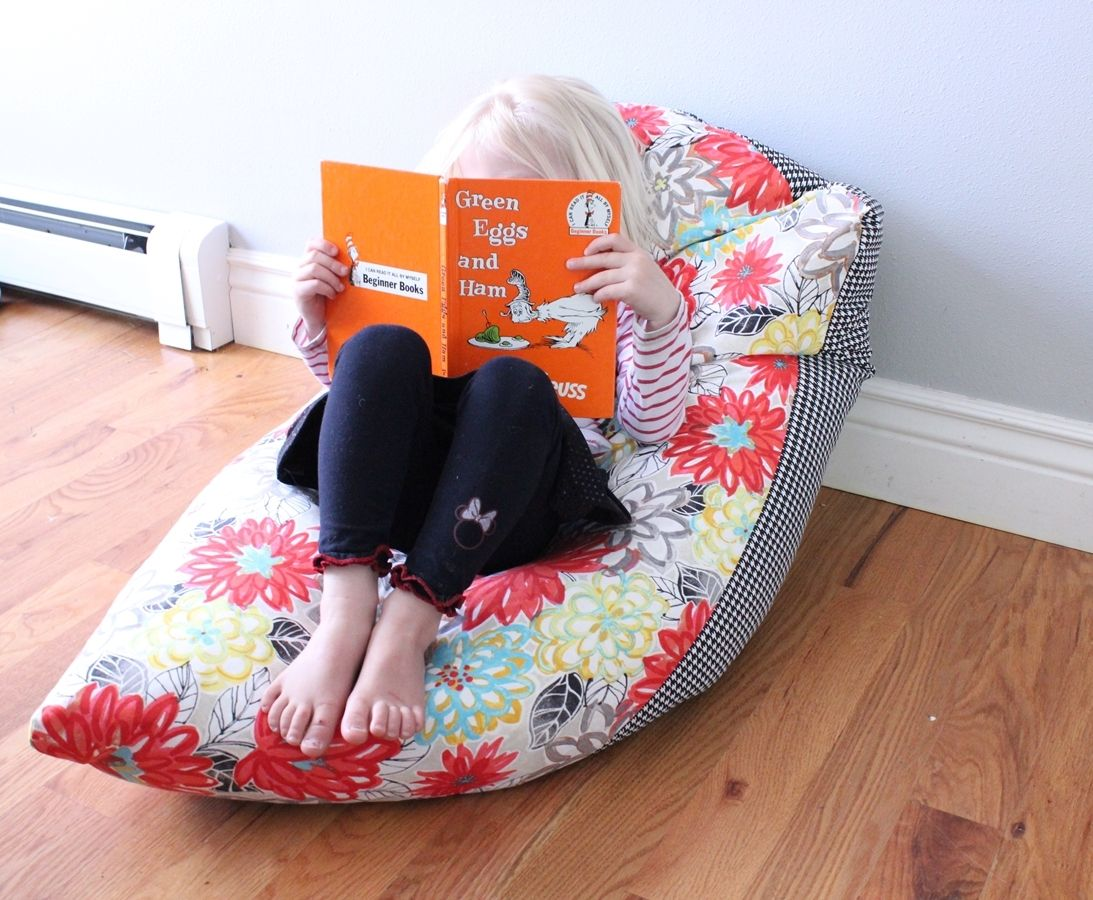 View in gallery & Super Simple DIY Kids Bean Bag Chair: A Step-by-Step Tutorial
