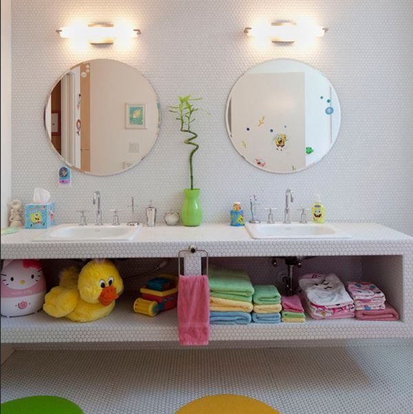 Bathroom Accessories For Children easy ways to style and organize the kids' bathroom