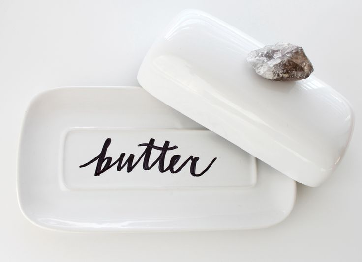 kitchen butterdish