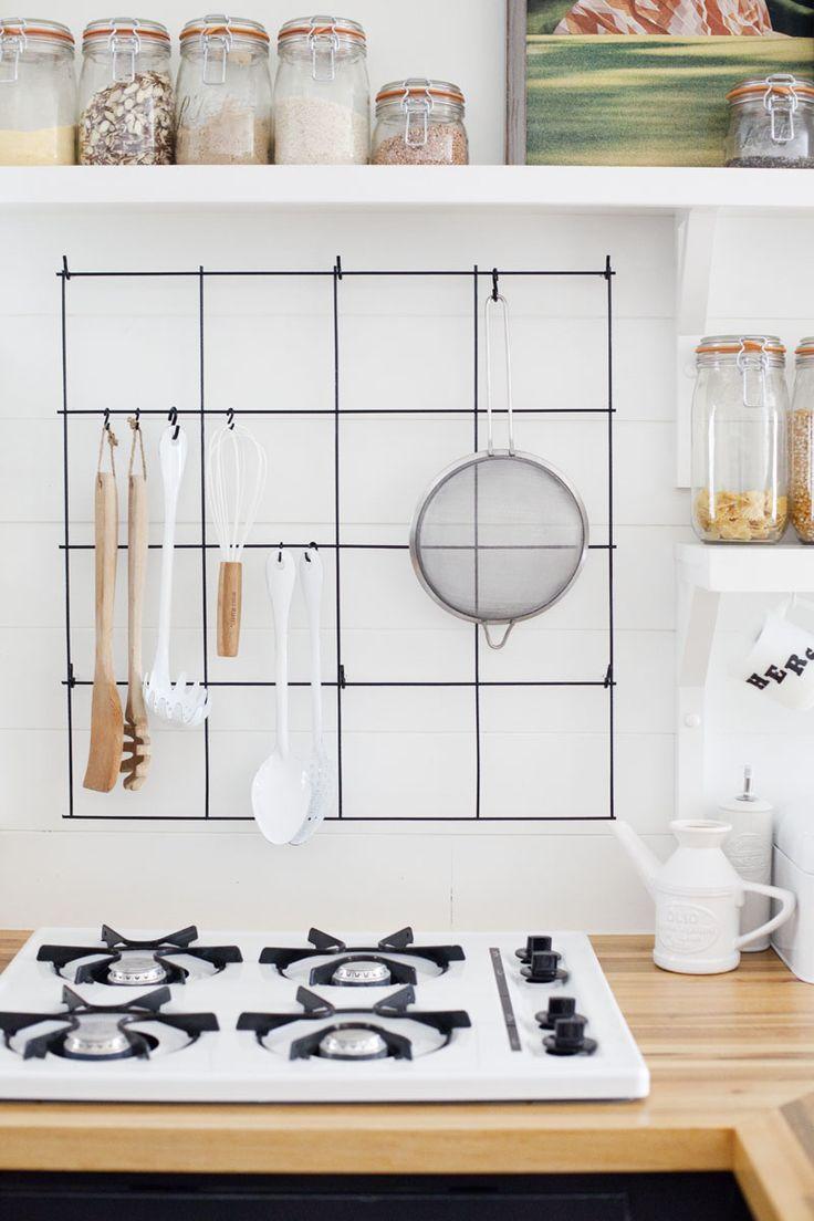 kitchen utensil rack