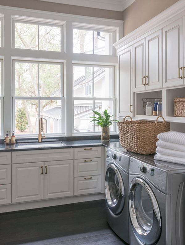 15 Tips to Creating a Laundry Room that\'s both Charming and Functional
