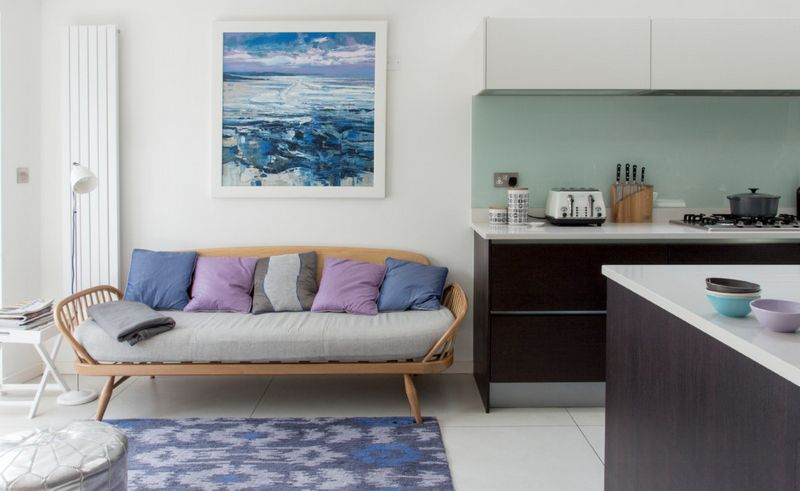 Blue And Purple Living Room Colors what is lavender and how to work with this color