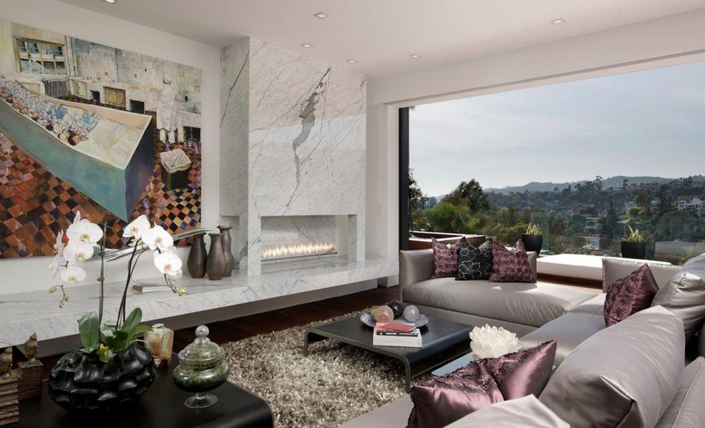 20 Nature Loving Fireplace Ideas