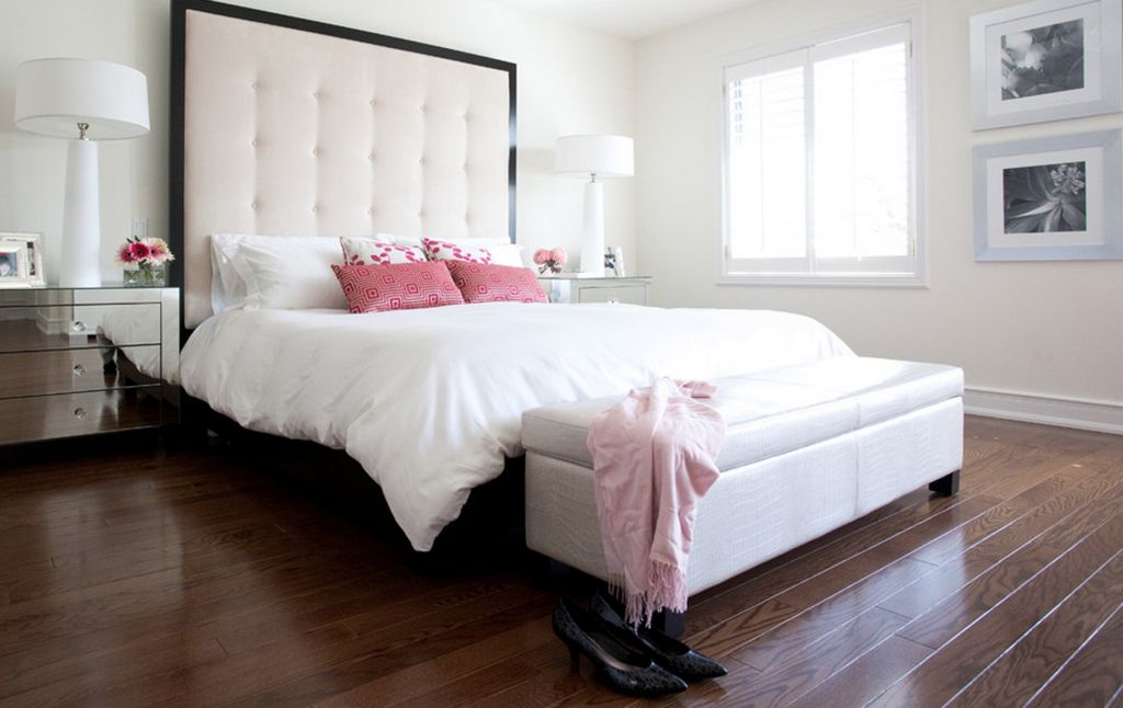 Largely Modern. & 10 Fabric Headboard Ideas for your Bedroom