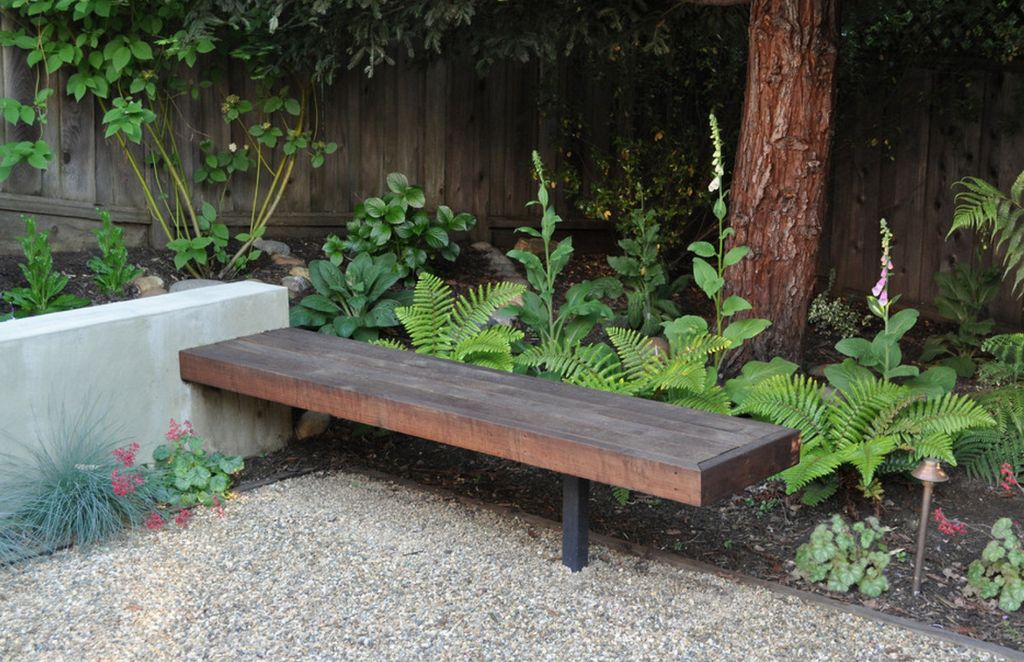 Superb Small Outdoor Bench Part - 9: Fresh With A Touch Of Cozy U2013 The Garden Bench