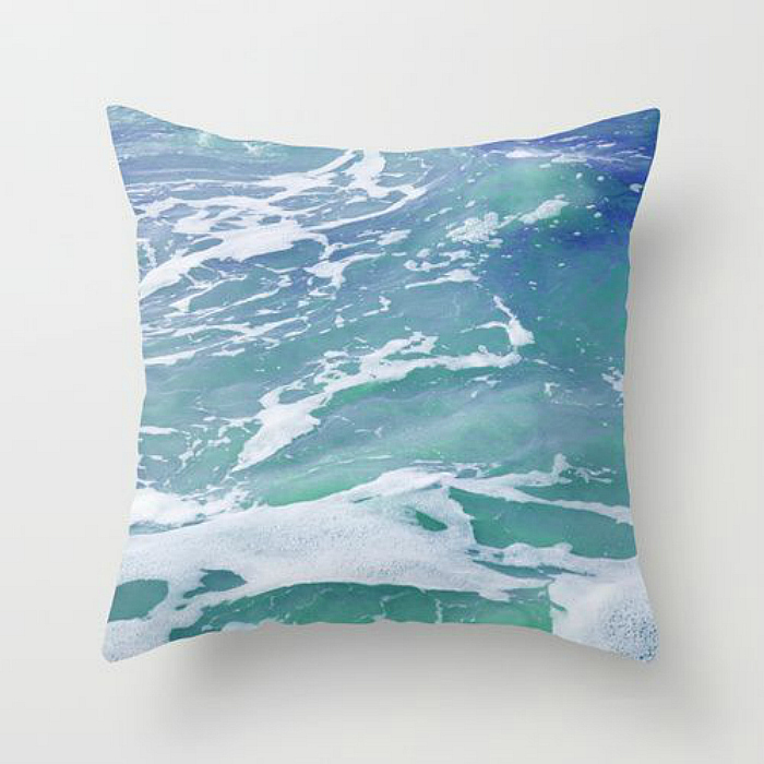 ocean water pillow