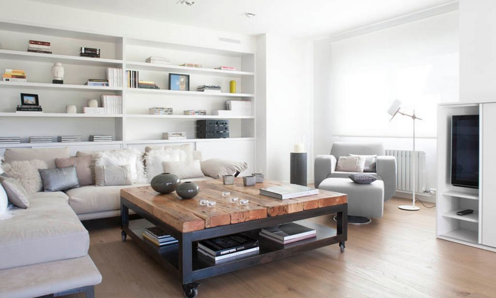 Furniture Arrangements That Include Square Coffee Tables