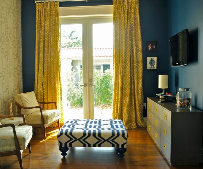 Good The Way To Brighten Up A Room With Yellow Curtains