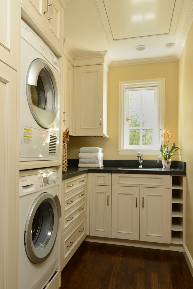 15 tips to creating a laundry room that s both charming and functional - Laundry rooms for small spaces decoration ...
