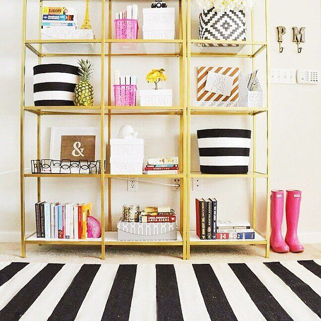 How To Enhance A D 233 Cor With A Black And White Striped Rug