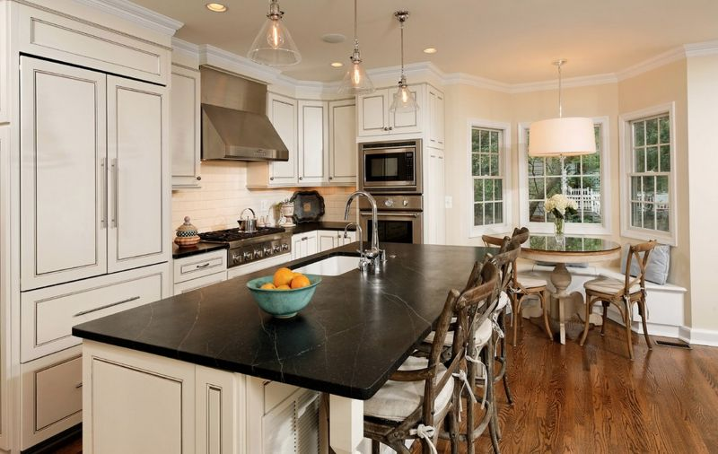 25 open concept kitchen designs that really work for Open style kitchen cabinets
