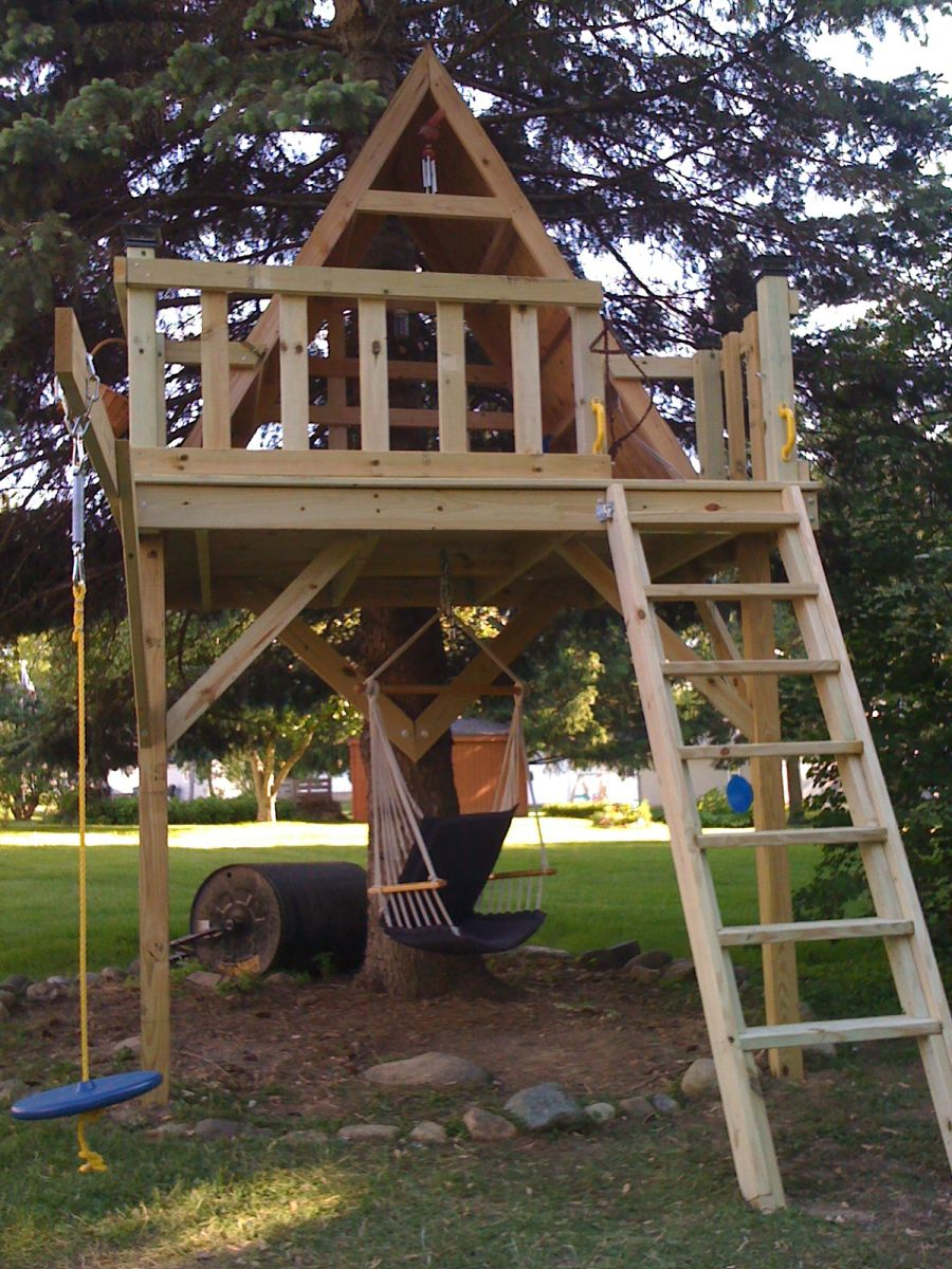 Kids Tree House Pictures. A Hammock Kids Tree House Pictures I