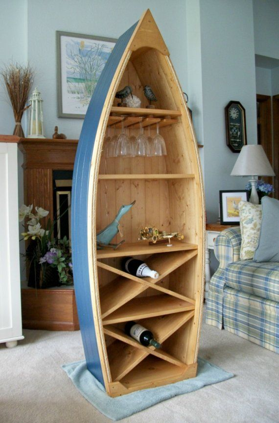 6 Ft Boat Wine Rack Gl Holder