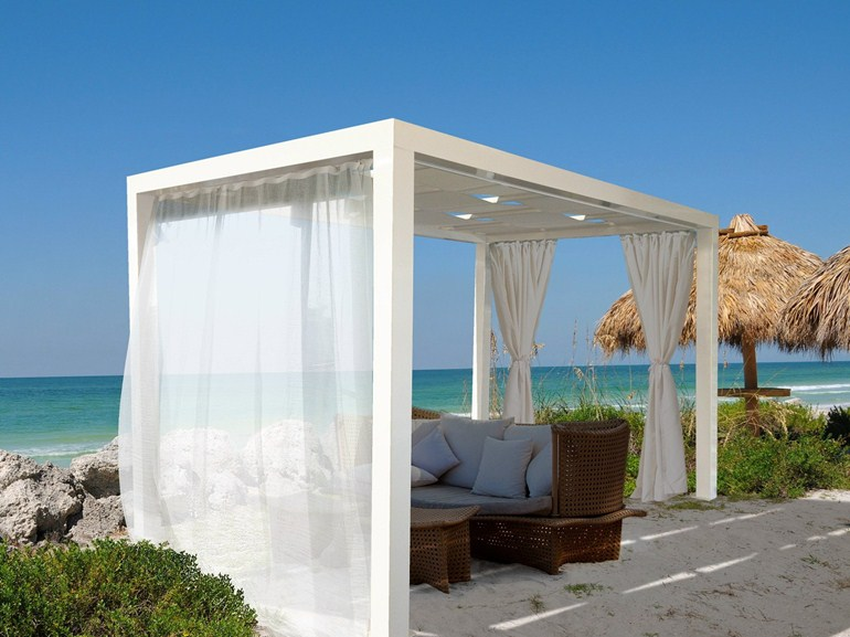 modern pergola designs inspired by the classic structures. Black Bedroom Furniture Sets. Home Design Ideas
