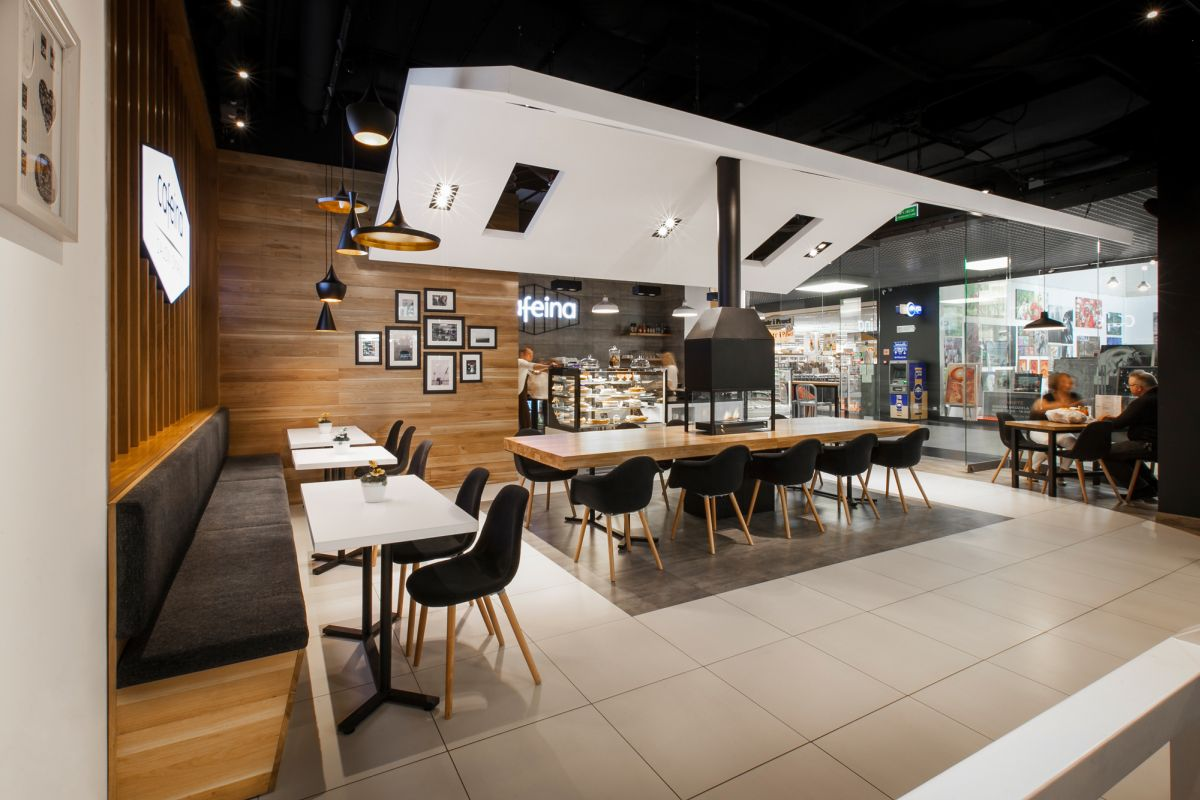the new cafeina caf makes its guests feel right at home at the mall
