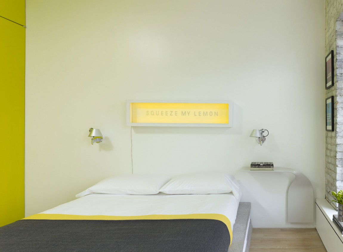 Chinatown-Loft-bedroom-yellow-accents