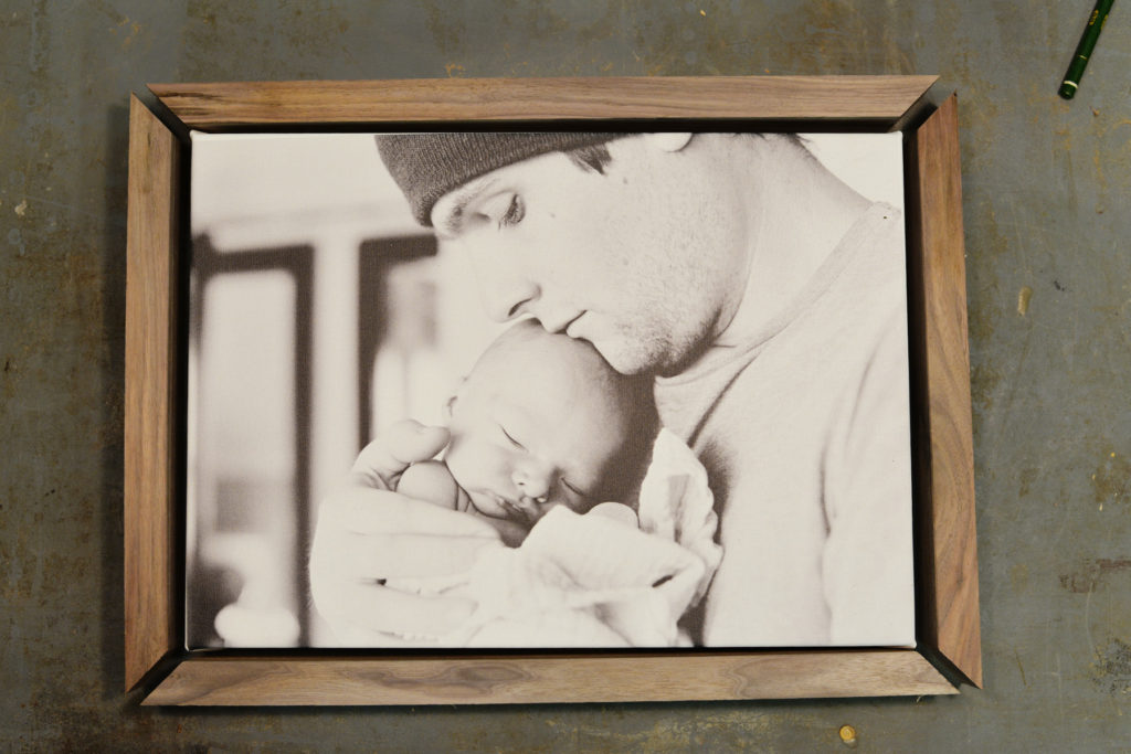 DIY Framed Photo Canvas