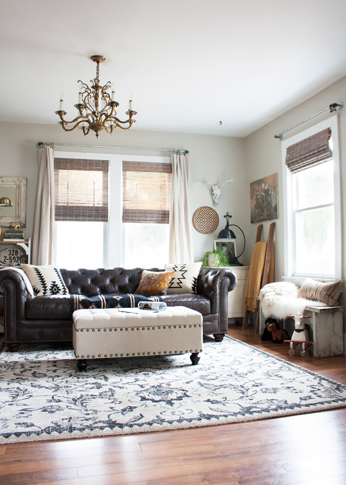 Amazing Eclectic Boho Living Room