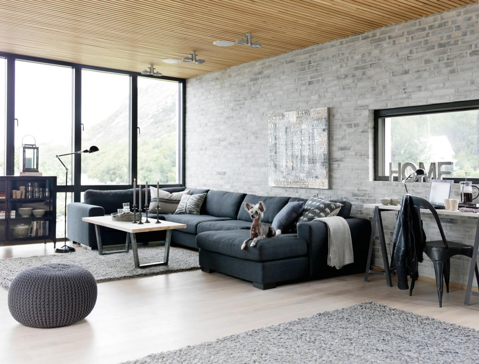Modern Home Interior Furniture Living. Exquisite Industrial Living Room Furniture  Modern