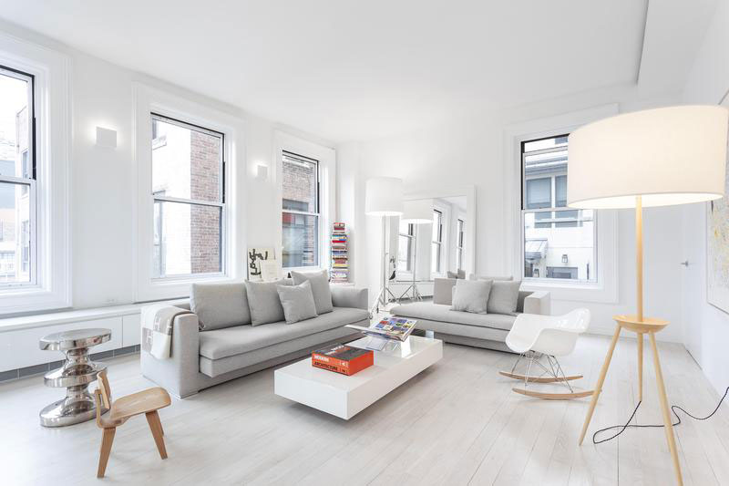 Soothing Apartment Found In The Iconic Flatiron Building