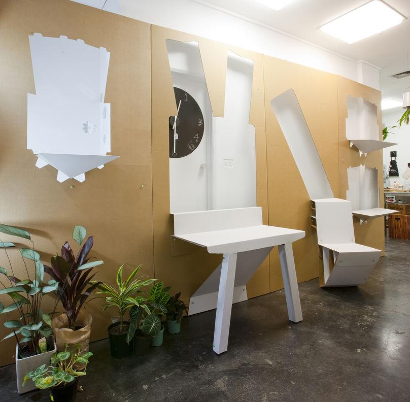 Fold-out-store-desk-design