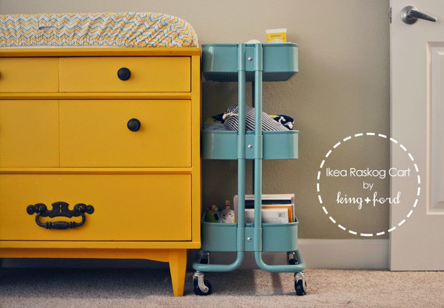 Awesome Storage Cart For The Kids