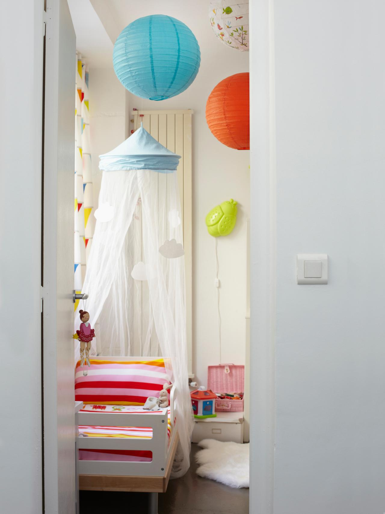 & 20 Whimsical Toddler Bedrooms for Little Girls