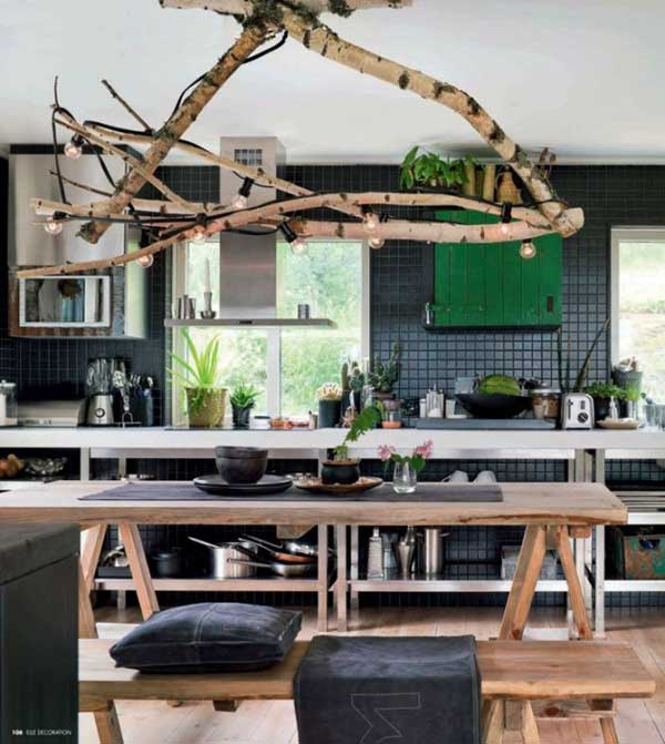 Rustic-Tree-Branch-Chandeliers