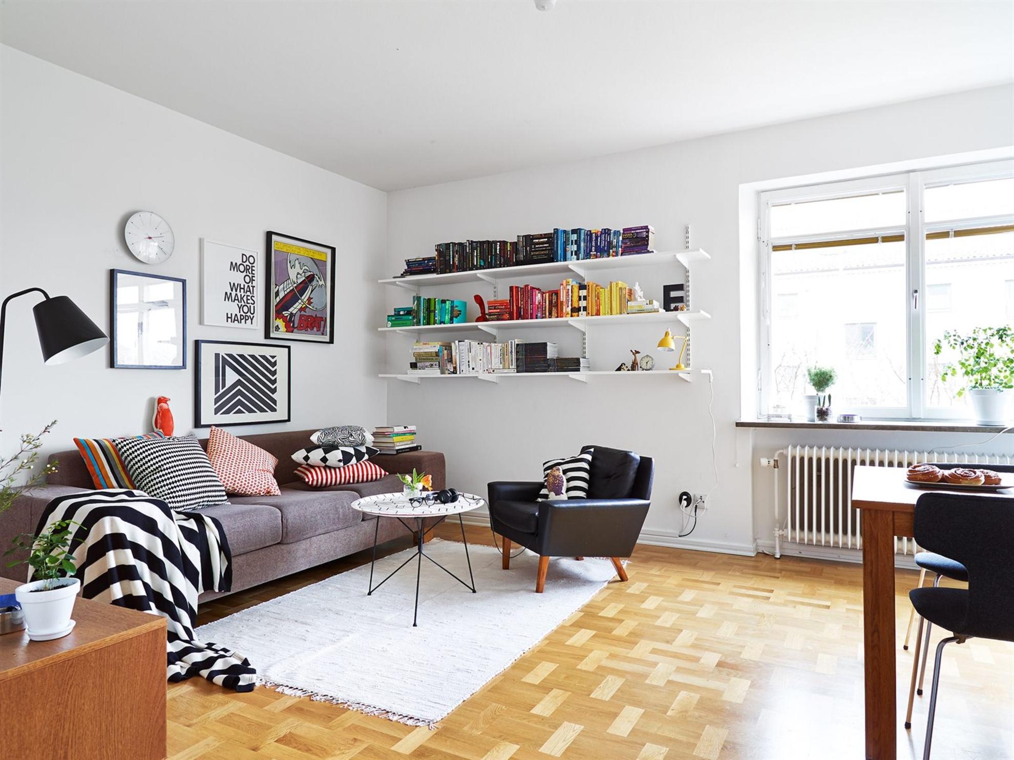 Skandinavisch-Wohnzimmermöbel