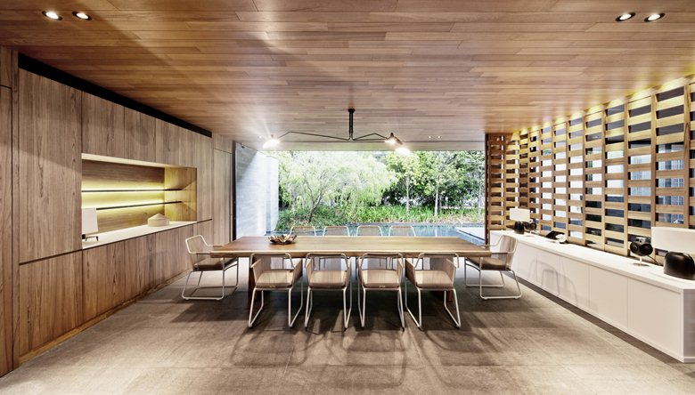Wall-House-dining-room-overall-design