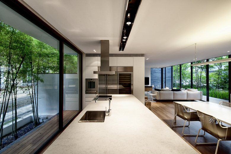 Wall-House-kitchen-island