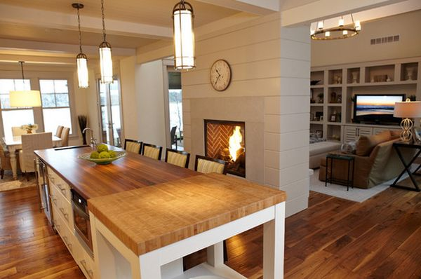 view in gallery - Decorating Ideas For Living Room With Fireplace
