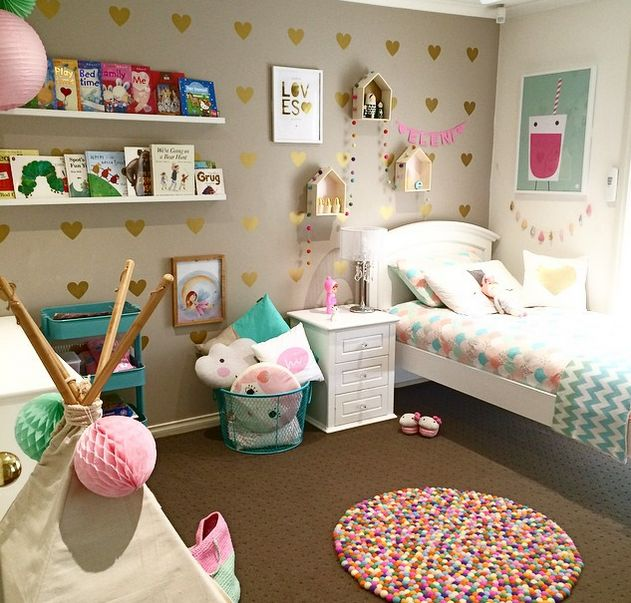 Incroyable 20 Whimsical Toddler Bedrooms For Little Girls