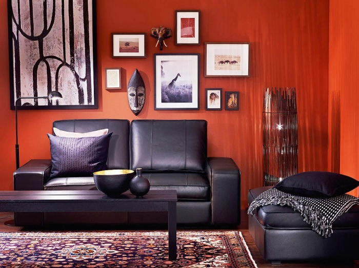 Living Room Ideas Red And Black 20 colors that jive well with red rooms