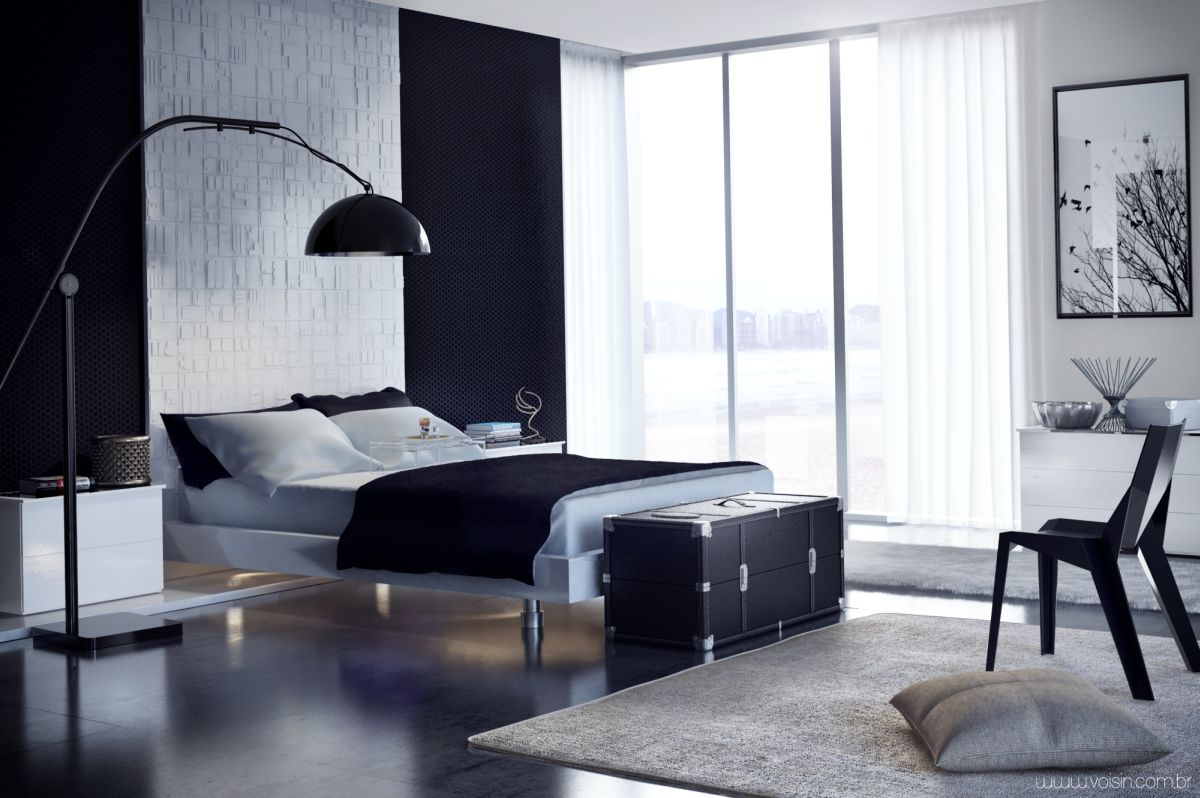 20 minimalist bedrooms for the modern stylista - Bedroom furniture small spaces minimalist ...