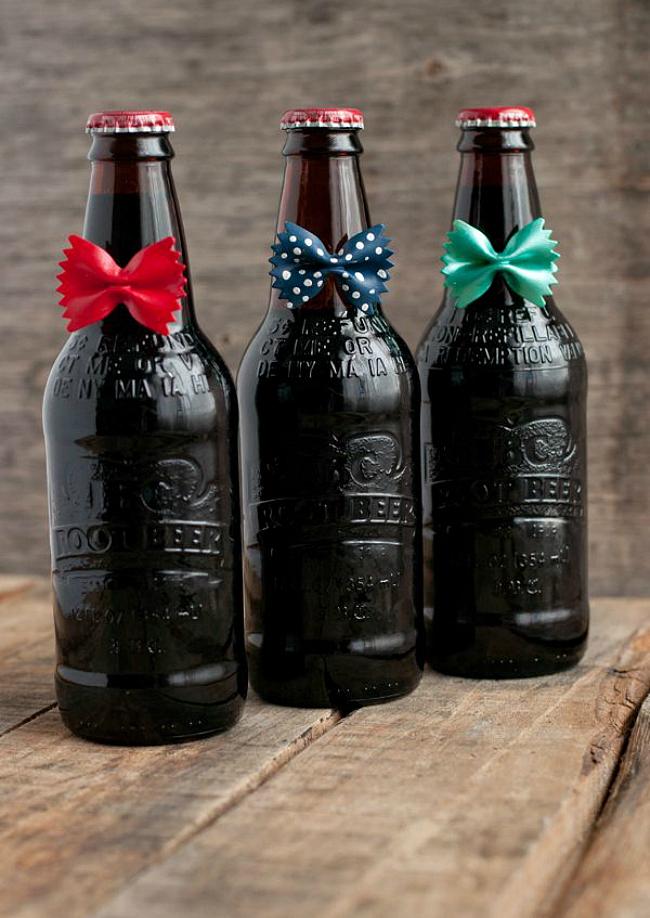 bow tie bottles