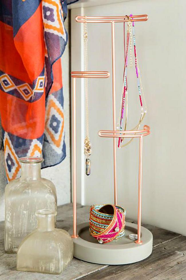 buy copper jewelry holder