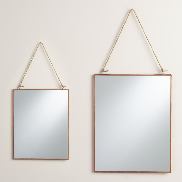 buy copper mirrors