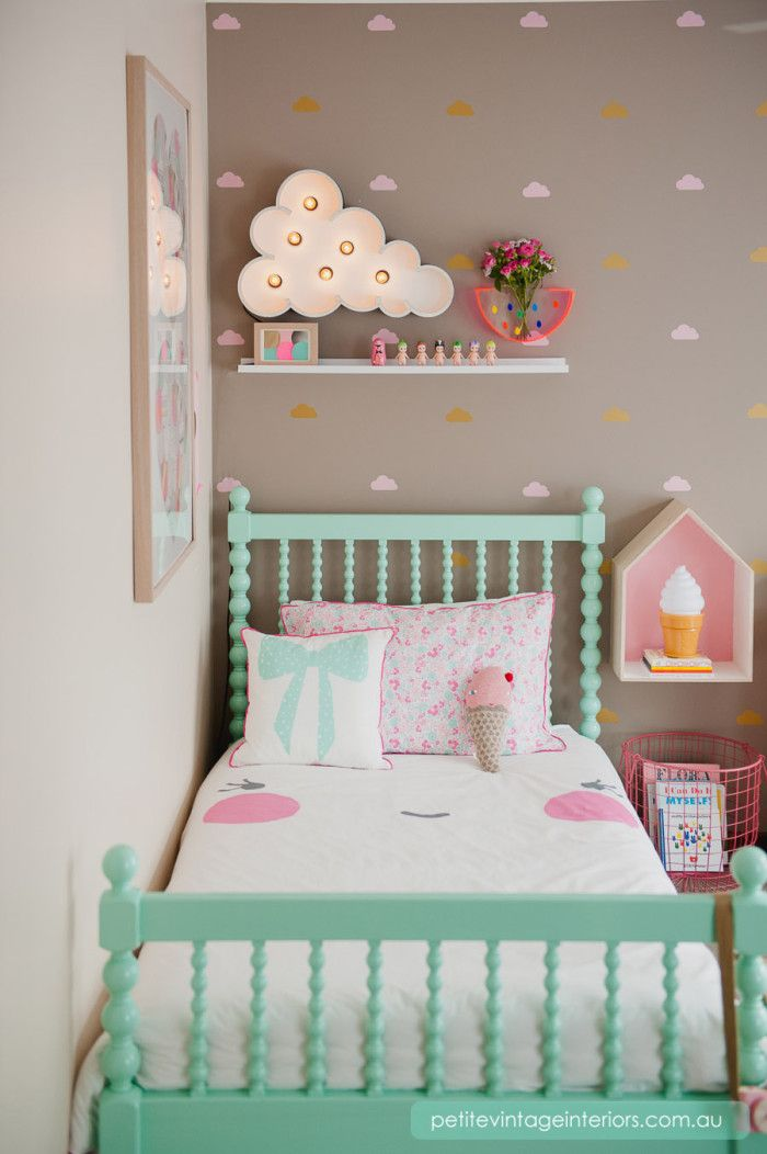 Clouds. & 20 Whimsical Toddler Bedrooms for Little Girls