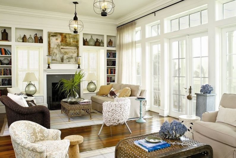 Coastal Living Room Sand Inspired Tones