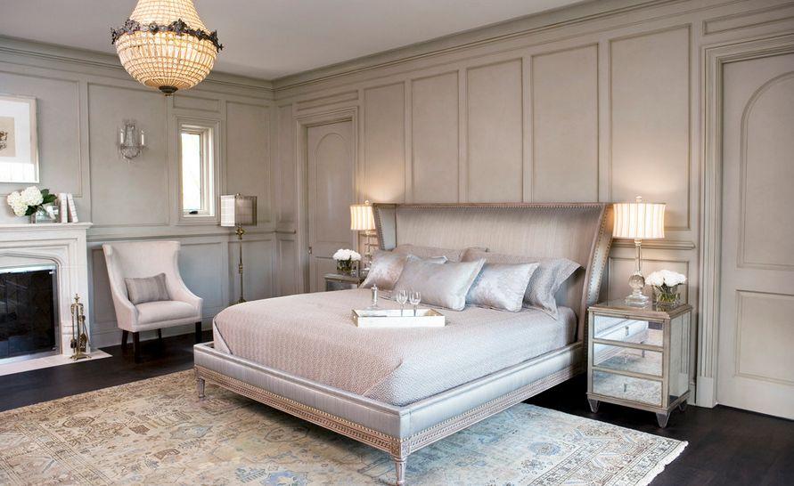 Farbe und Textur für das Schlafzimmer