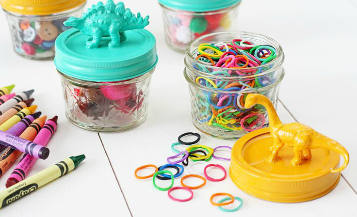 craft storage jars