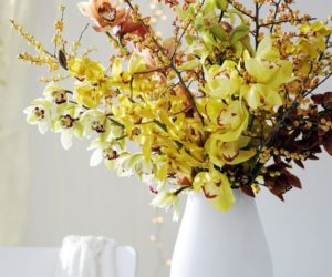 Fun Ways To Style the House and Decorate with Orchids