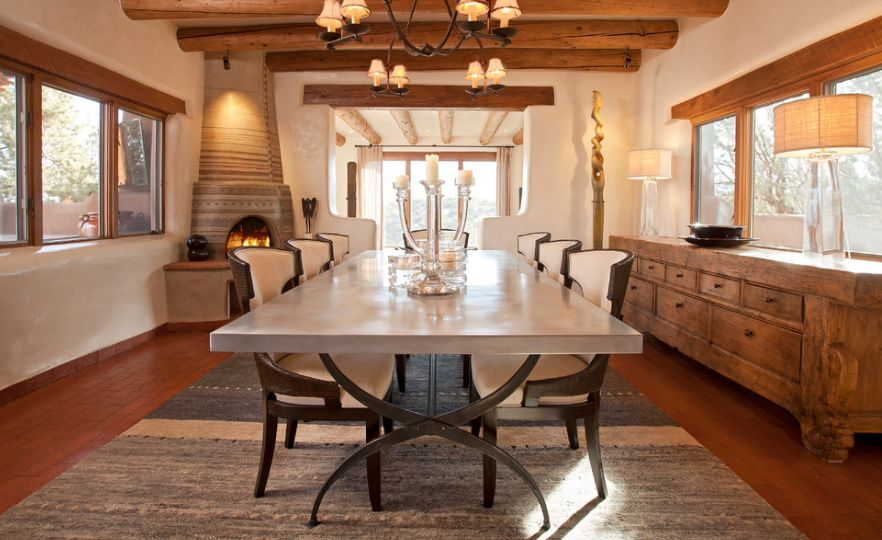 20 versatile rustic decor pieces for your home for Rustic dining area